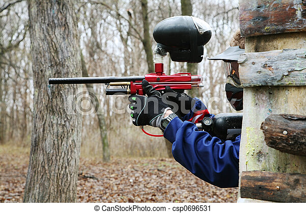 paintball - csp0696531