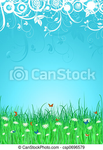 summer background - csp0696579