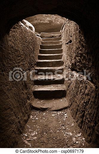 Cave exit 3 - csp0697179