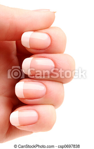 French manicure 05 - csp0697838