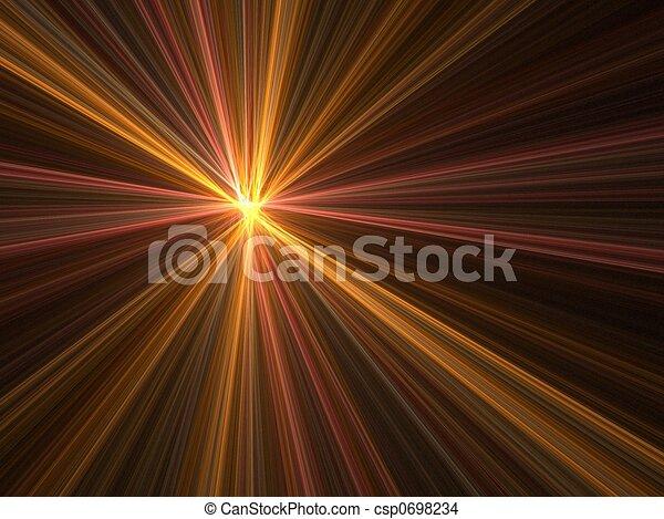 Speed motion blur - csp0698234