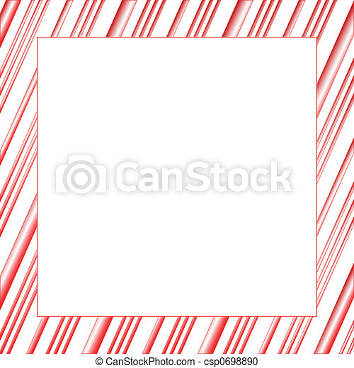 Candy Stripe Frame - csp0698890