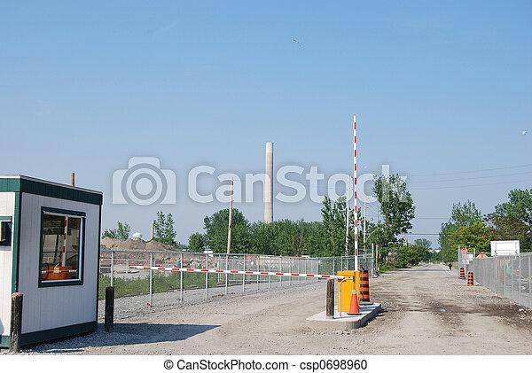 Guard Booth - csp0698960