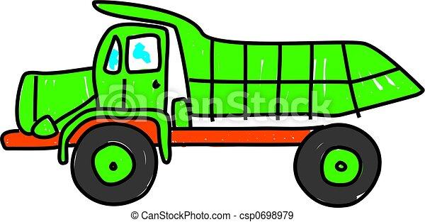 dump truck - csp0698979