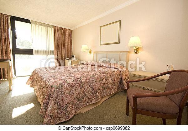 hotel room - csp0699382
