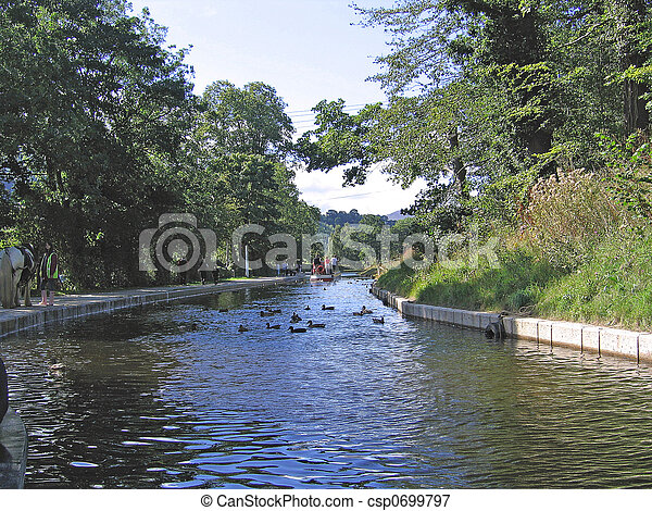 Canal Boat - csp0699797