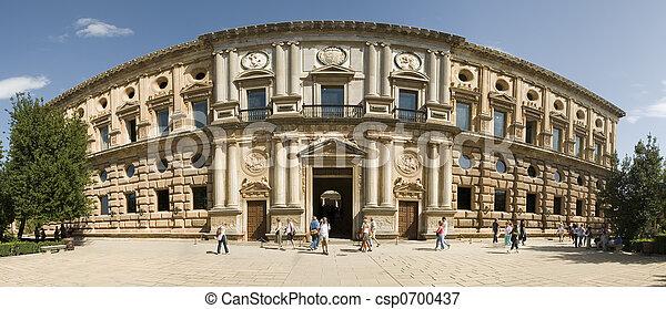 Carlos V palace - csp0700437