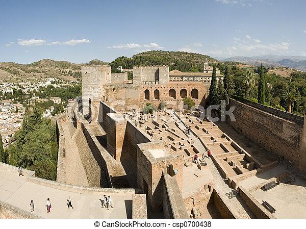 Alhambra ruins - csp0700438