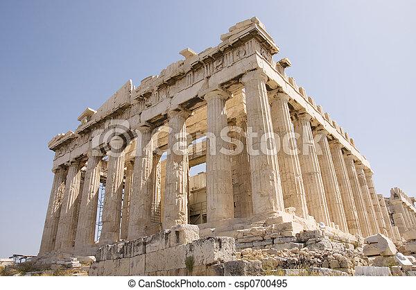 Greece monument - csp0700495