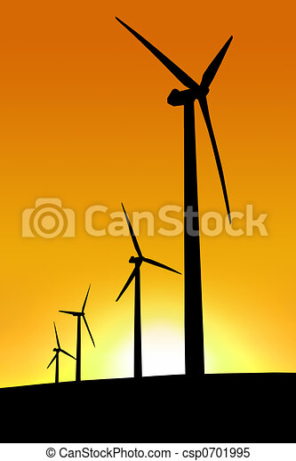 Sunset Wind Farm - csp0701995
