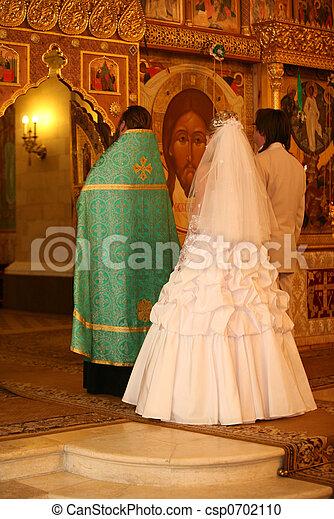 Ceremony in Church - csp0702110