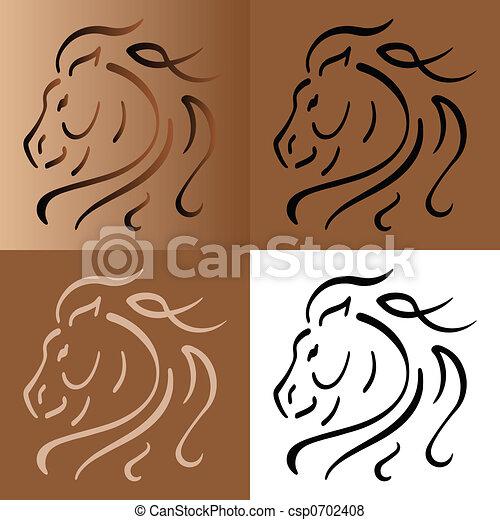 Horse - csp0702408