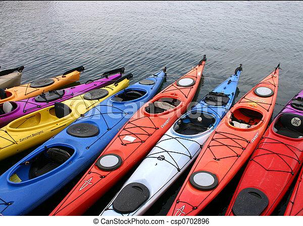 Kayak, colorito - csp0702896