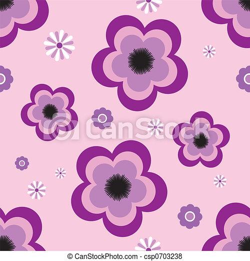pansy tile - csp0703238