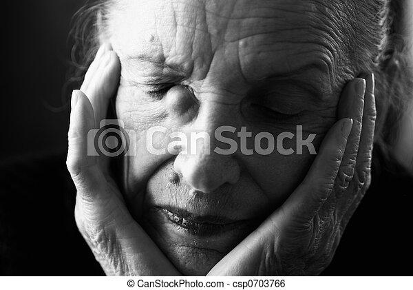 deep sadness - csp0703766