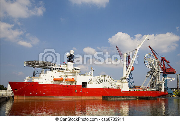 Construction vessel 1 - csp0703911