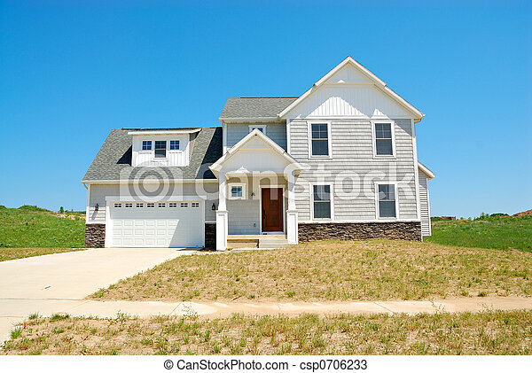 Residential Upscale American House - csp0706233