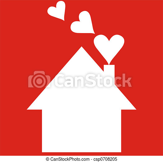 Stock Illustrations of home sweet home  vector home csp0708205
