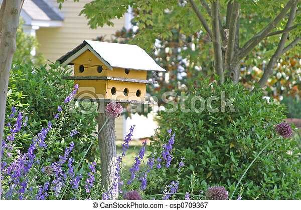 Yellow Bird House - csp0709367