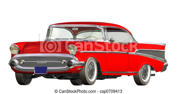 auto vintage - csp0709413