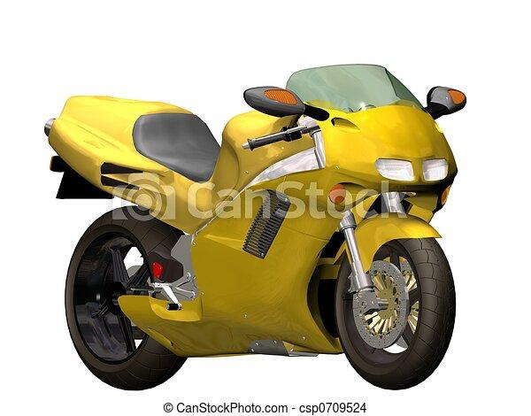 motor bike - csp0709524