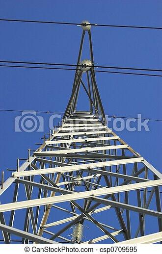 Power Mast from Below - csp0709595