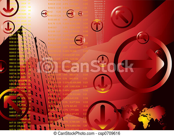 business results red - csp0709616