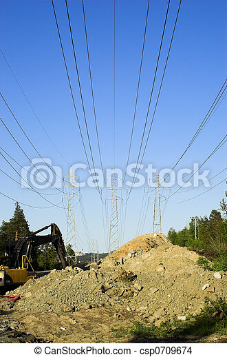 Power Lines Construc - csp0709674
