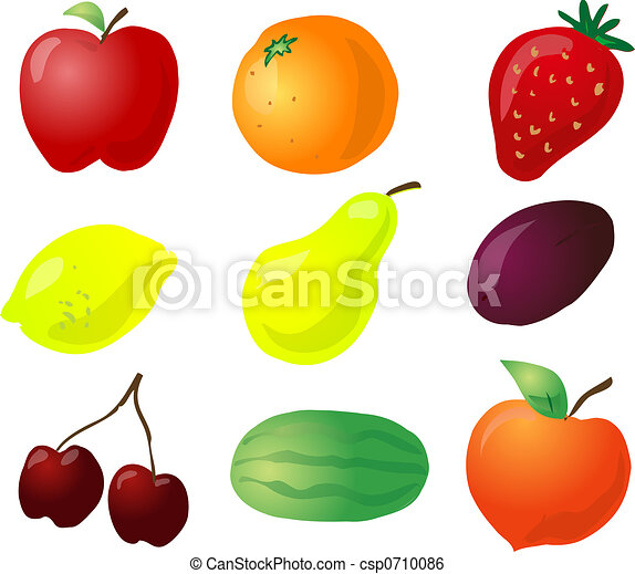 Fruit illustration - csp0710086
