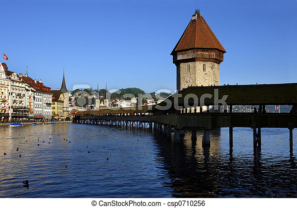 Luzern, Switzerland - csp0710256