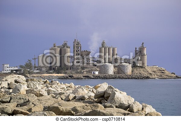 Cement Factory - csp0710814