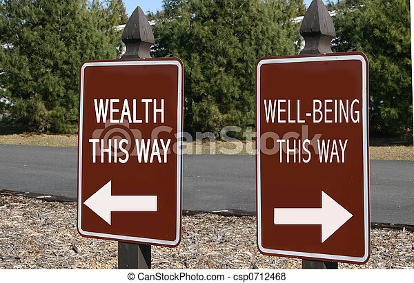 Wealth or Well-being? - csp0712468