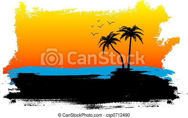 Grunge summer - csp0712490