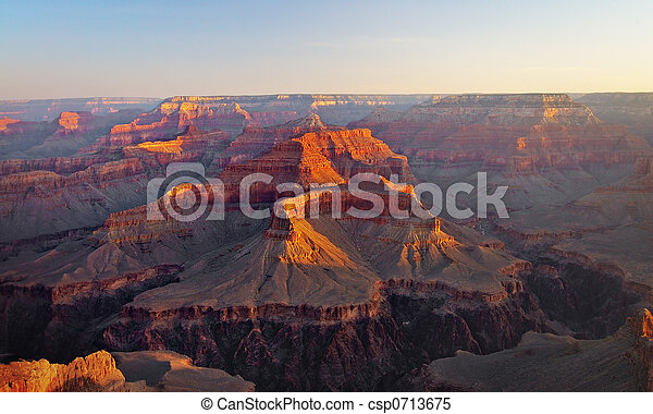 Grand Canyon at Sunrise, Arizona - csp0713675