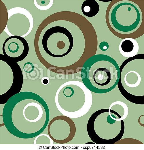 seventies circles - csp0714532