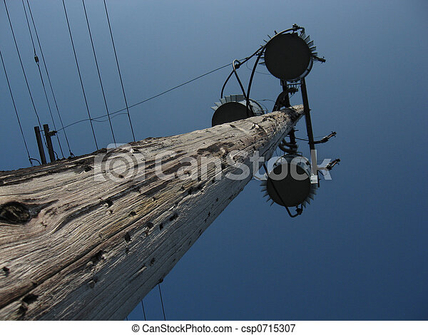 Utility pole and fixtures - csp0715307