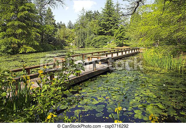 path in botanical garden - csp0716292