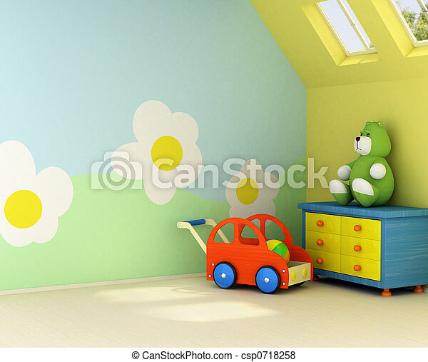 New room for a baby - csp0718258