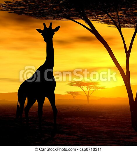 The Giraffe - csp0718311