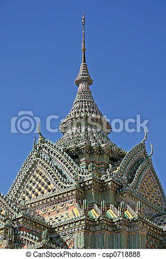 Wat Pho architecture - csp0718888