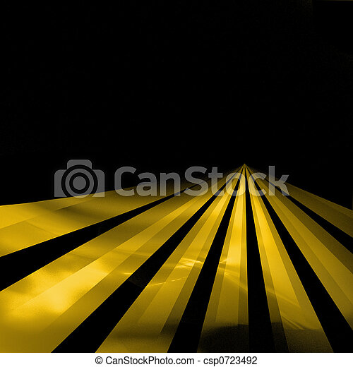 Lines On The Highway - csp0723492