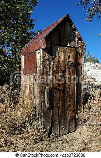 Abandoned Outhouse - csp0723680