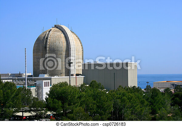 Nuclear power plant - csp0726183