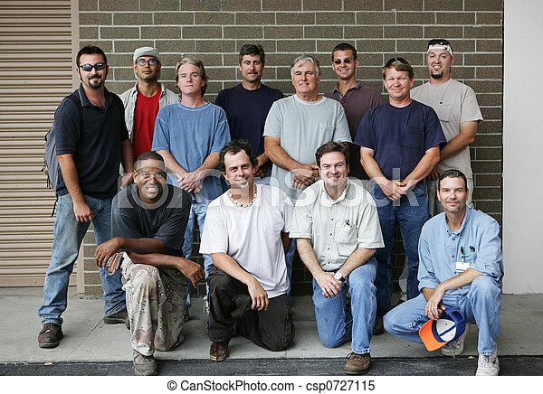 Blue Collar Guys - csp0727115