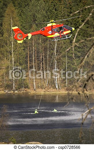 Water Rescue - csp0728566