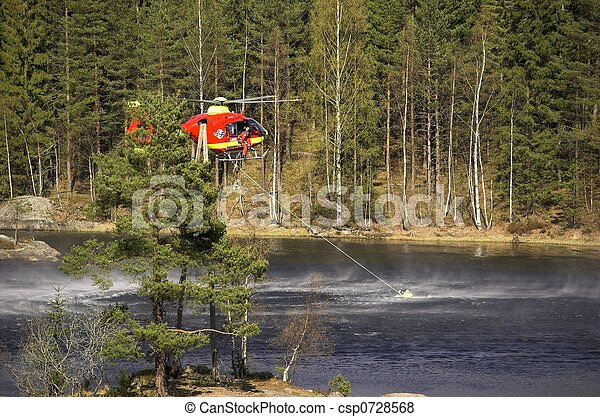 Water Rescue - csp0728568