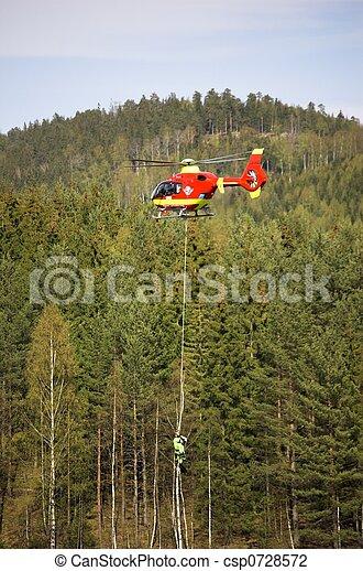 Rescue Chopper Lift - csp0728572