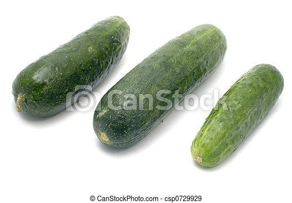 Three cucumbers - csp0729929