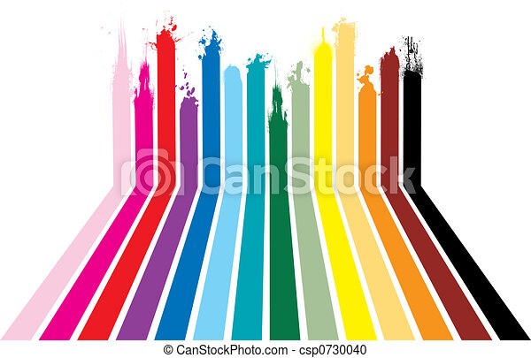 rainbow splat - csp0730040