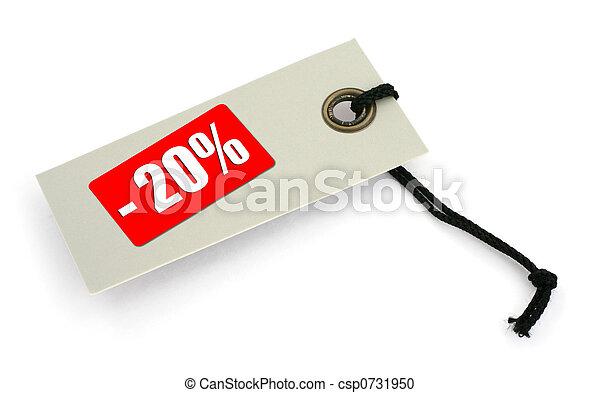 Sale tag #2 - csp0731950